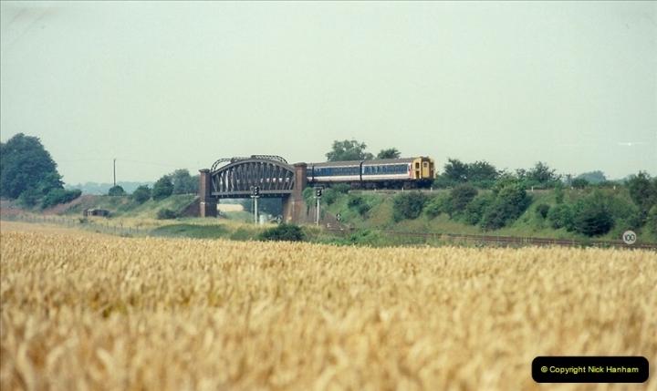1989-07-25 Battledown Flyover, Basingstoke, Hampshire.  (8)0340