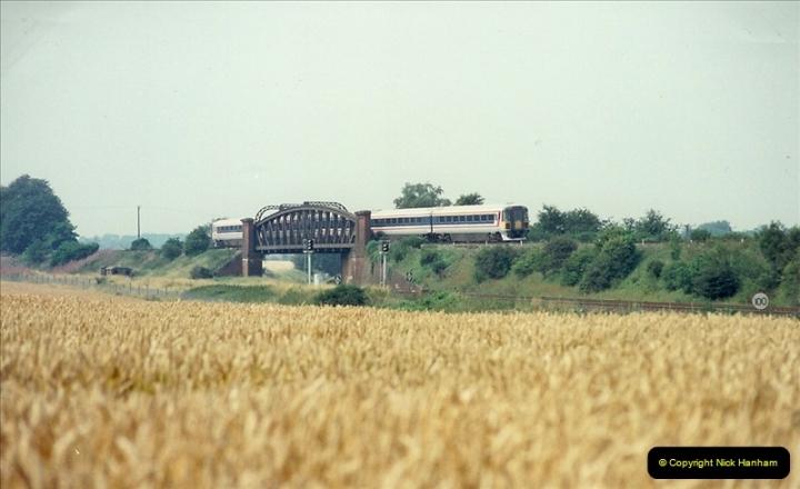 1989-07-25 Battledown Flyover, Basingstoke, Hampshire.  (9)0341