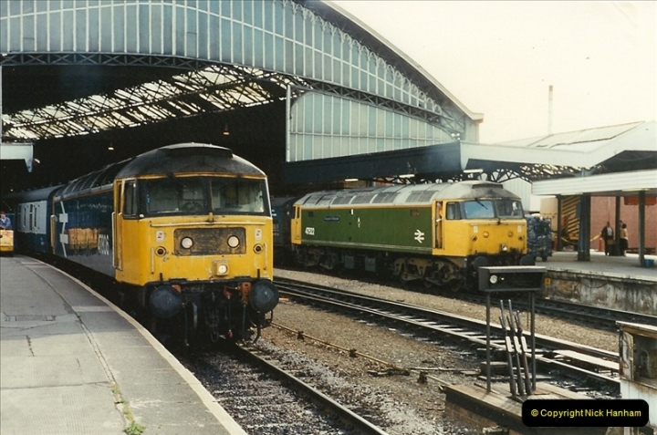 1989-08-18 Bristol Temple Meads, Bristol.  (21)0367