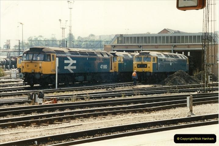 1989-08-20 Bristol Temple Meads, Bristol.  (6)0406
