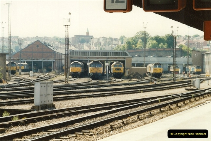 1989-08-20 Bristol Temple Meads, Bristol.  (7)0407