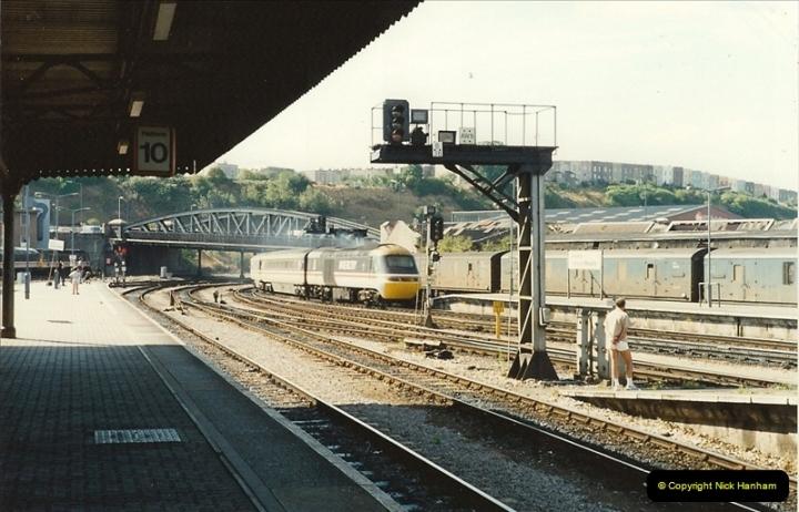 1989-08-20 Bristol Temple Meads, Bristol.  (9)0409