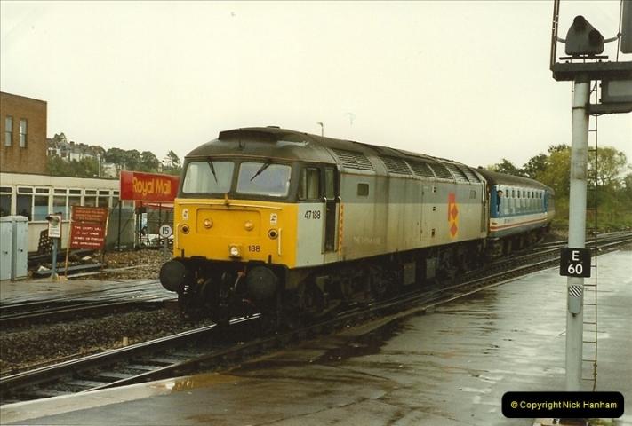 1989-10-28 Exeter St. Davids, Exeter, Devon.  (29)0632