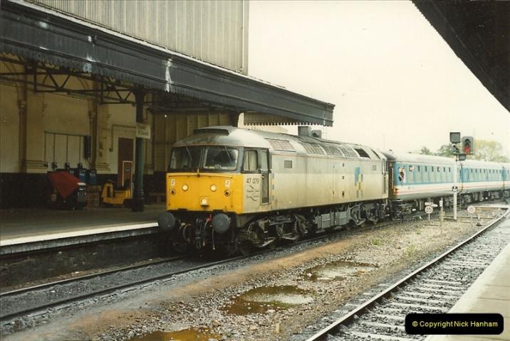 1989-10-28 Exeter St. Davids, Exeter, Devon.  (4)0607