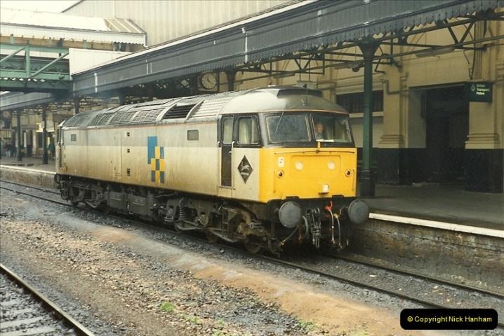 1989-10-28 Exeter St. Davids, Exeter, Devon.  (5)0608