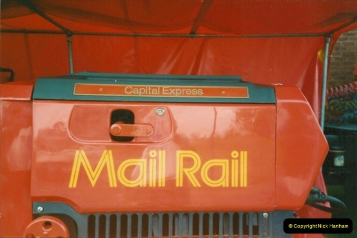 1991-05-08 Royal Mail, Milton Keynes Post Office Exhibition.  (3)032