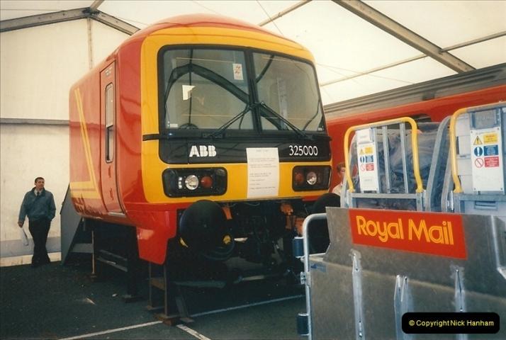 1995-05-10 Royal Mail exhibition @ Milton Keynes, Buckinghamshire. (1)0229