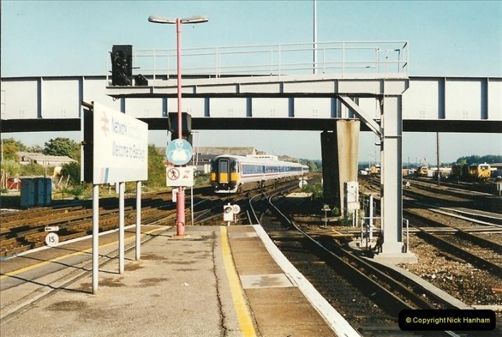 1995-10-08 Eastleigh, Hampshire.  (1)0268