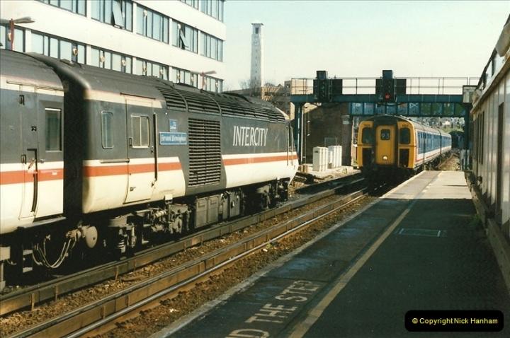 1997-04-07 Southampton, Hampshire.  (102)0701