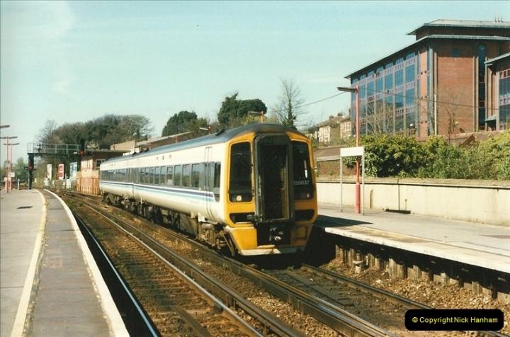1997-04-07 Southampton, Hampshire.  (89)0688