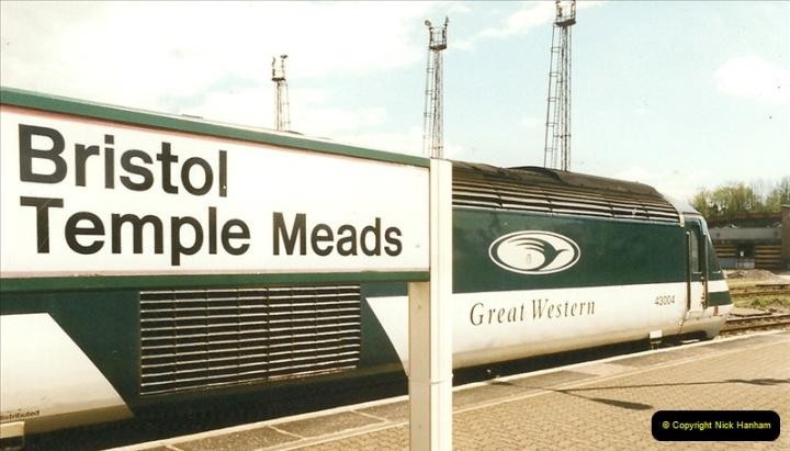 1999-04-24 Bristol Temple Meads, Bristol.  (35)138