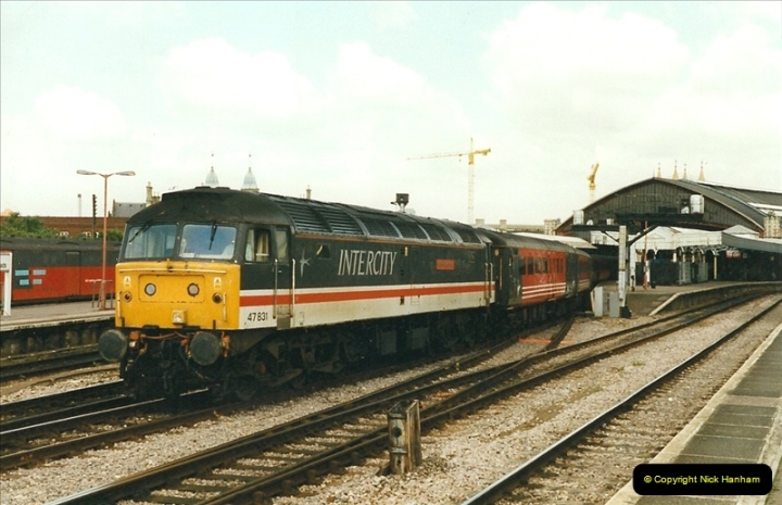 1999-04-24 Bristol Temple Meads, Bristol.  (60)163