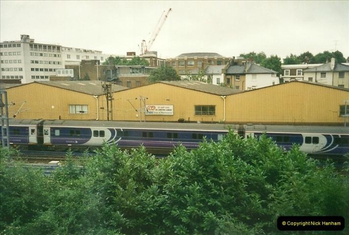 2000-07-23 to 30 West Coast main line @ Camden Town. (4)518