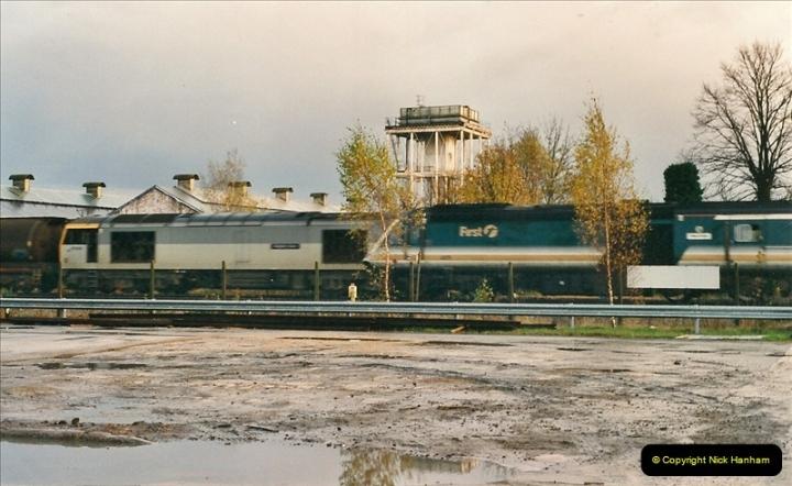 2000-11-08 Swindon Works, Swindon, Wiltshire.  (12)606