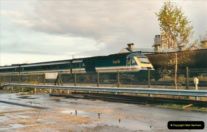 2000-11-08 Swindon Works, Swindon, Wiltshire.  (13)607