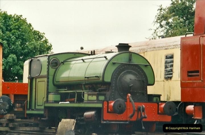 2001-06-17 Northampton & Lamport Railway, Northampton, Northamptonshire.  (8)665