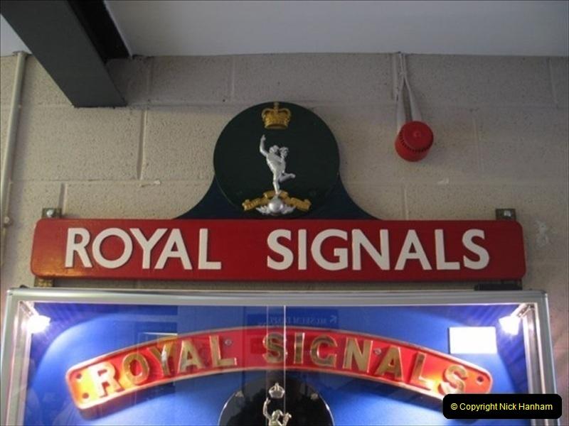 2004-10-11 The Royal Signals Museum, Blandford Forum, Dorset.  (7)052