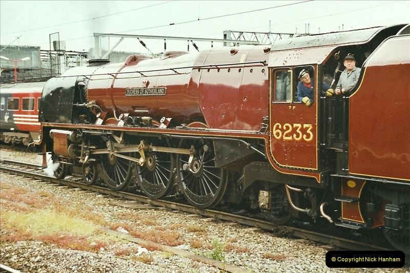 2003-06-14 Northampton-Crewe-Carlisle & Return. The Royal Scott & 6233 Dutchess of Southerland.  (10)130