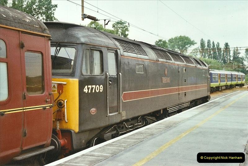 2003-06-14 Northampton-Crewe-Carlisle & Return. The Royal Scott & 6233 Dutchess of Southerland.  (1)121