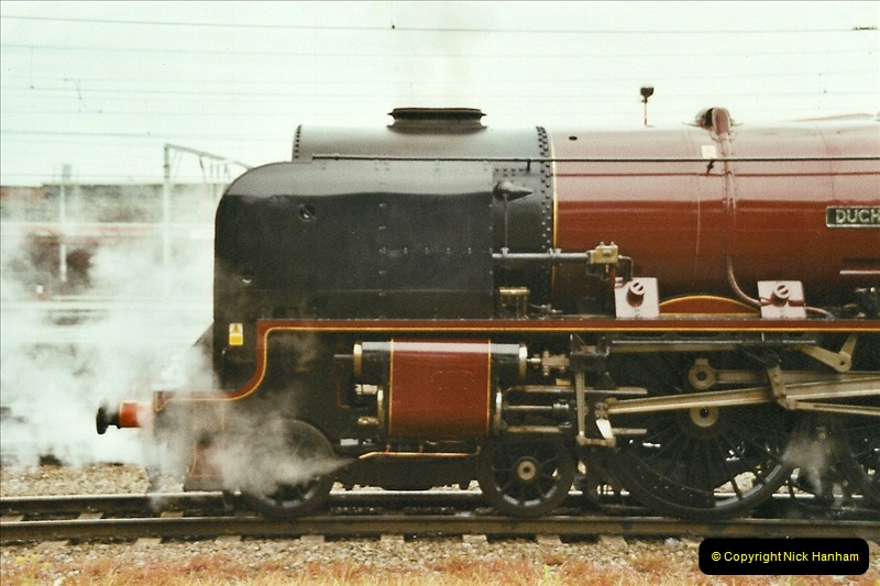 2003-06-14 Northampton-Crewe-Carlisle & Return. The Royal Scott & 6233 Dutchess of Southerland.  (12)132
