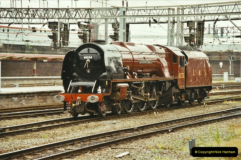 2003-06-14 Northampton-Crewe-Carlisle & Return. The Royal Scott & 6233 Dutchess of Southerland.  (13)133