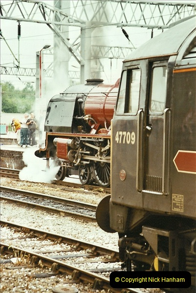 2003-06-14 Northampton-Crewe-Carlisle & Return. The Royal Scott & 6233 Dutchess of Southerland.  (14)134