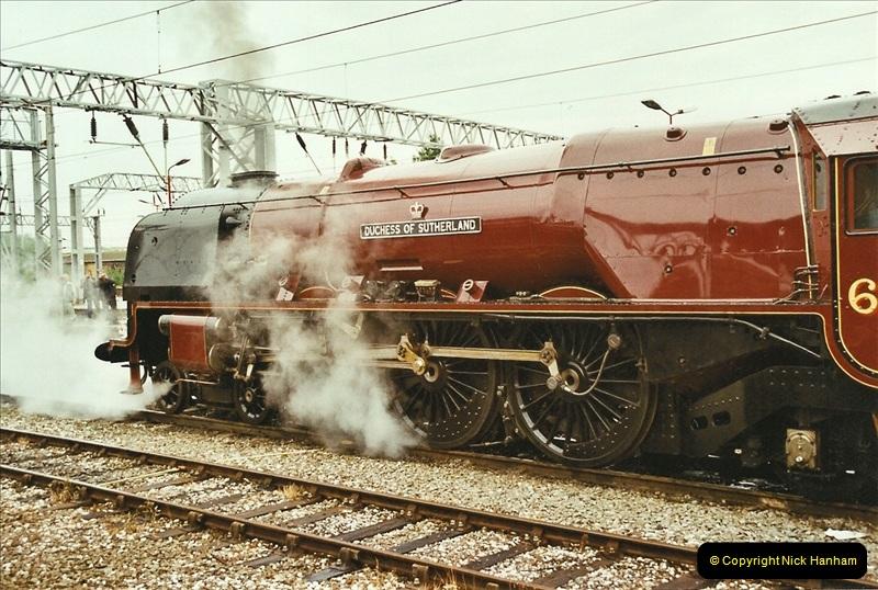 2003-06-14 Northampton-Crewe-Carlisle & Return. The Royal Scott & 6233 Dutchess of Southerland.  (16)136