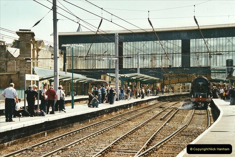 2003-06-14 Northampton-Crewe-Carlisle & Return. The Royal Scott & 6233 Dutchess of Southerland.  (23)143