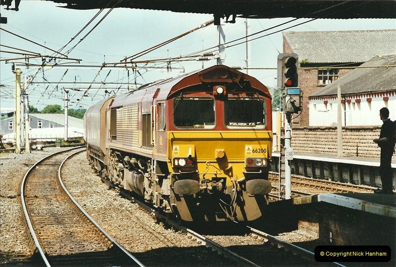2003-06-14 Northampton-Crewe-Carlisle & Return. The Royal Scott & 6233 Dutchess of Southerland.  (25)145
