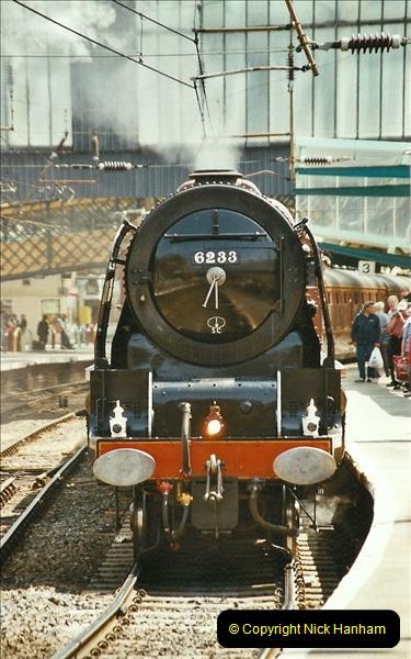 2003-06-14 Northampton-Crewe-Carlisle & Return. The Royal Scott & 6233 Dutchess of Southerland.  (29)149