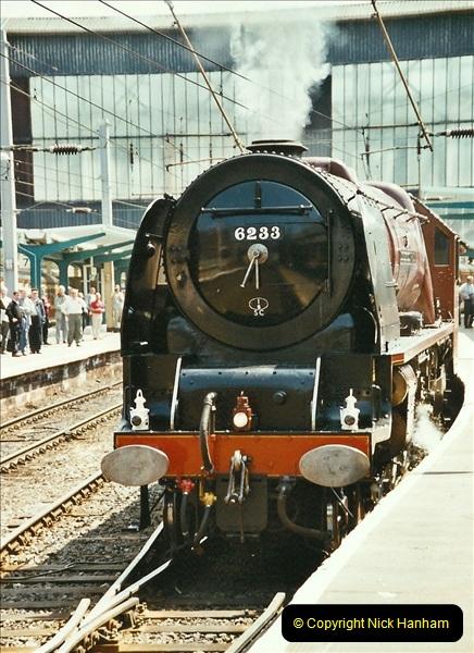 2003-06-14 Northampton-Crewe-Carlisle & Return. The Royal Scott & 6233 Dutchess of Southerland.  (31)151