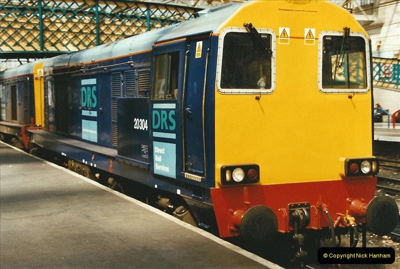 2003-06-14 Northampton-Crewe-Carlisle & Return. The Royal Scott & 6233 Dutchess of Southerland.  (39)159