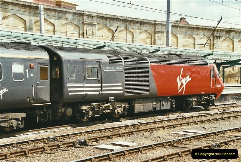 2003-06-14 Northampton-Crewe-Carlisle & Return. The Royal Scott & 6233 Dutchess of Southerland.  (47)167