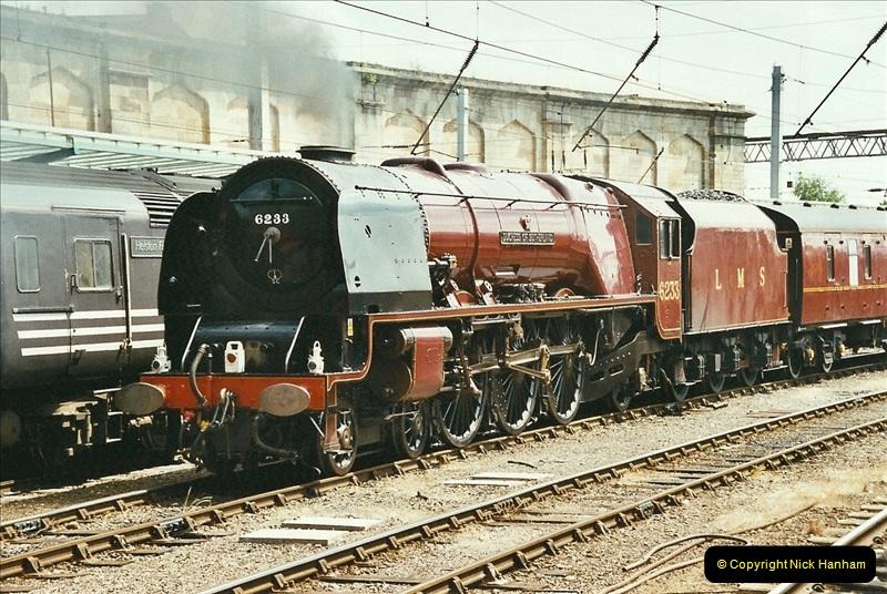 2003-06-14 Northampton-Crewe-Carlisle & Return. The Royal Scott & 6233 Dutchess of Southerland.  (50)170