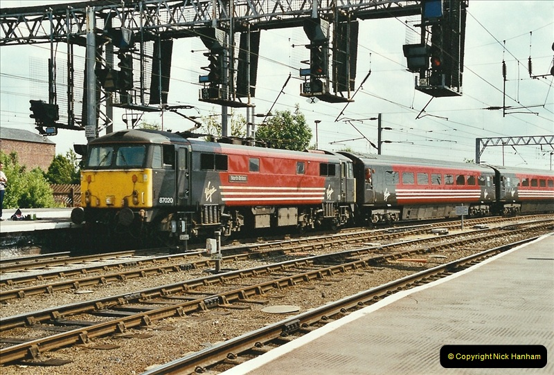 2003-06-14 Northampton-Crewe-Carlisle & Return. The Royal Scott & 6233 Dutchess of Southerland.  (54)174