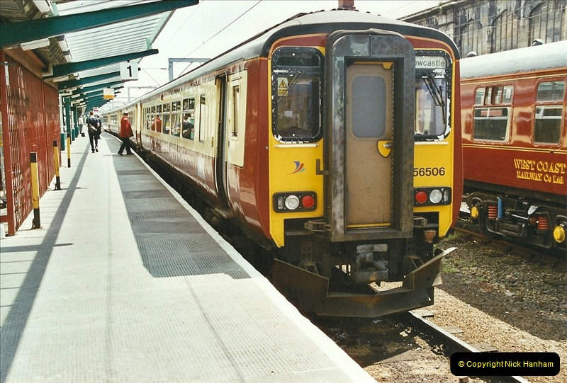 2003-06-14 Northampton-Crewe-Carlisle & Return. The Royal Scott & 6233 Dutchess of Southerland.  (55)175