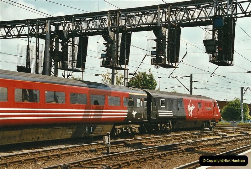2003-06-14 Northampton-Crewe-Carlisle & Return. The Royal Scott & 6233 Dutchess of Southerland.  (57)177
