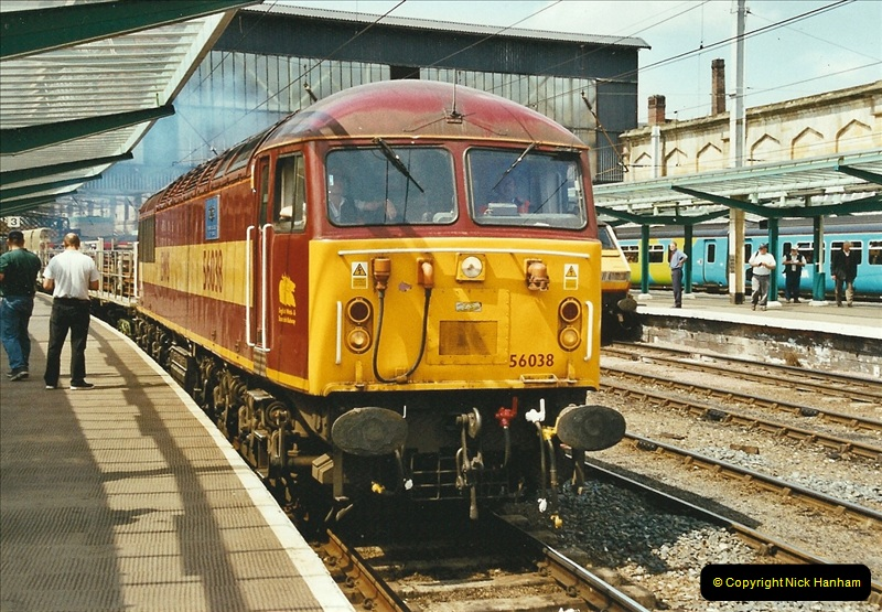2003-06-14 Northampton-Crewe-Carlisle & Return. The Royal Scott & 6233 Dutchess of Southerland.  (59)179