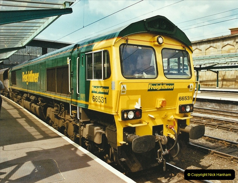 2003-06-14 Northampton-Crewe-Carlisle & Return. The Royal Scott & 6233 Dutchess of Southerland.  (61)181
