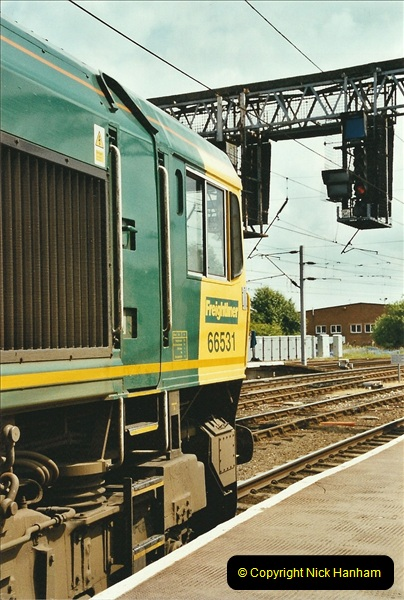2003-06-14 Northampton-Crewe-Carlisle & Return. The Royal Scott & 6233 Dutchess of Southerland.  (62)182