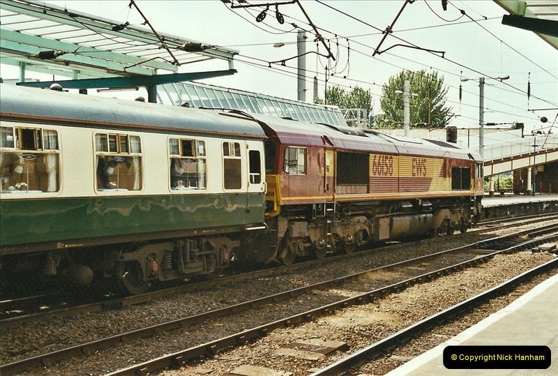 2003-06-14 Northampton-Crewe-Carlisle & Return. The Royal Scott & 6233 Dutchess of Southerland.  (70)190