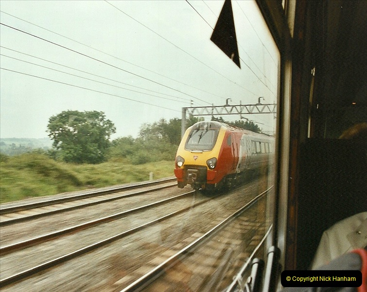 2003-06-14 Northampton-Crewe-Carlisle & Return. The Royal Scott & 6233 Dutchess of Southerland.  (7)127