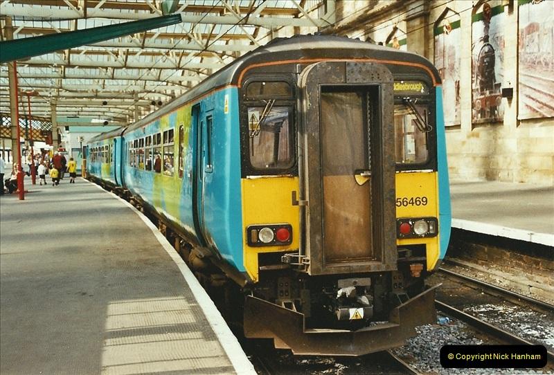 2003-06-14 Northampton-Crewe-Carlisle & Return. The Royal Scott & 6233 Dutchess of Southerland.  (72)192