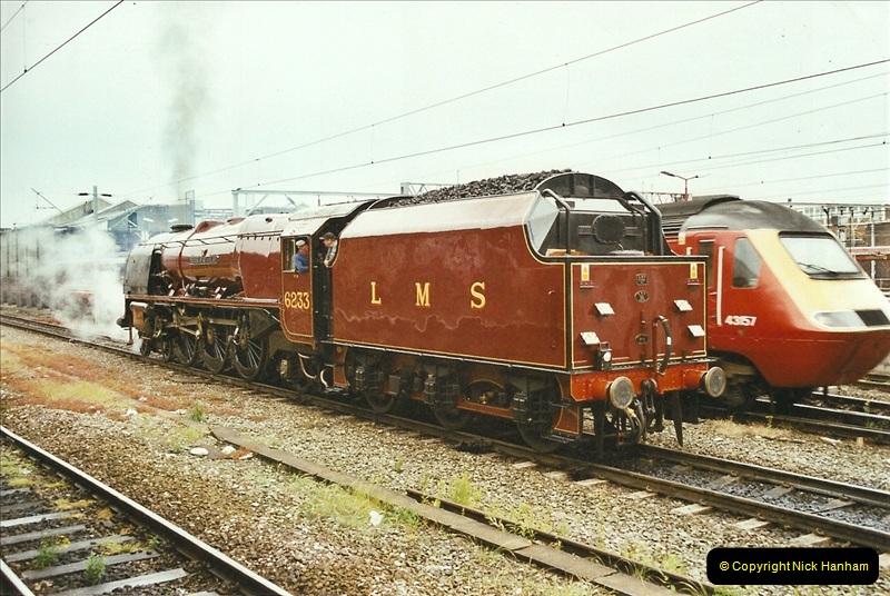 2003-06-14 Northampton-Crewe-Carlisle & Return. The Royal Scott & 6233 Dutchess of Southerland.  (9)129
