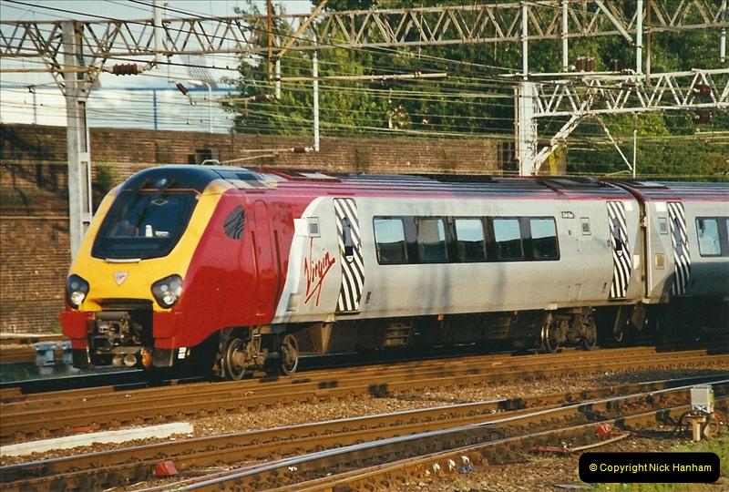 2003-06-14 Northampton-Crewe-Carlisle & Return. The Royal Scptt & 6233 Dutchess of Southerland.  (108)228