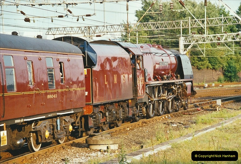 2003-06-14 Northampton-Crewe-Carlisle & Return. The Royal Scptt & 6233 Dutchess of Southerland.  (109)229