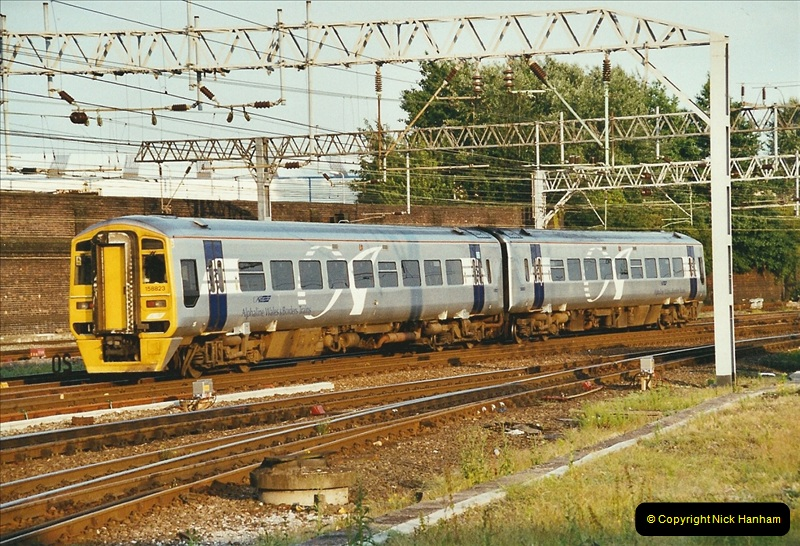 2003-06-14 Northampton-Crewe-Carlisle & Return. The Royal Scptt & 6233 Dutchess of Southerland.  (112)232