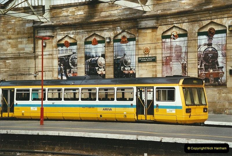 2003-06-14 Northampton-Crewe-Carlisle & Return. The Royal Scptt & 6233 Dutchess of Southerland.  (75)195
