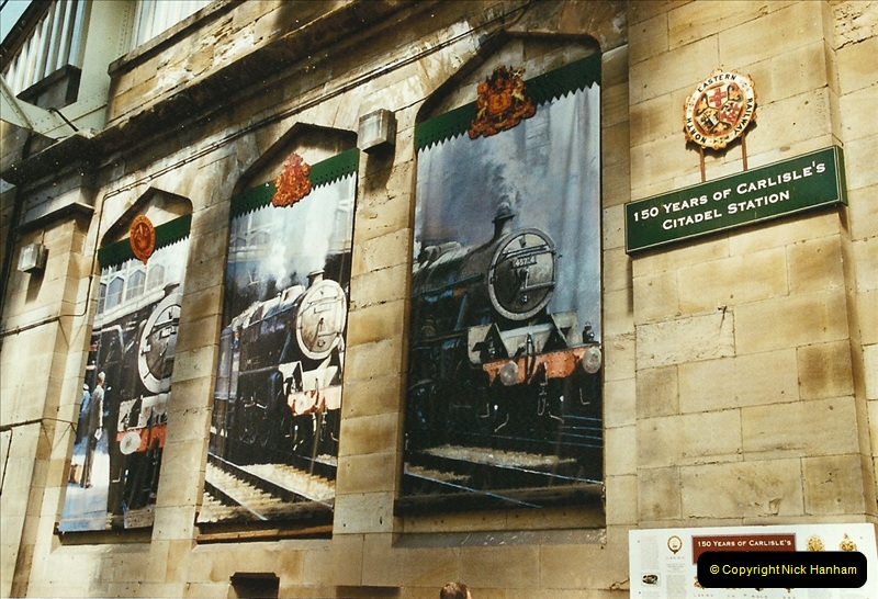 2003-06-14 Northampton-Crewe-Carlisle & Return. The Royal Scptt & 6233 Dutchess of Southerland.  (77)197