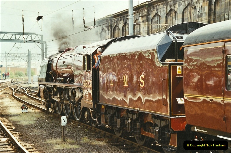 2003-06-14 Northampton-Crewe-Carlisle & Return. The Royal Scptt & 6233 Dutchess of Southerland.  (83)203